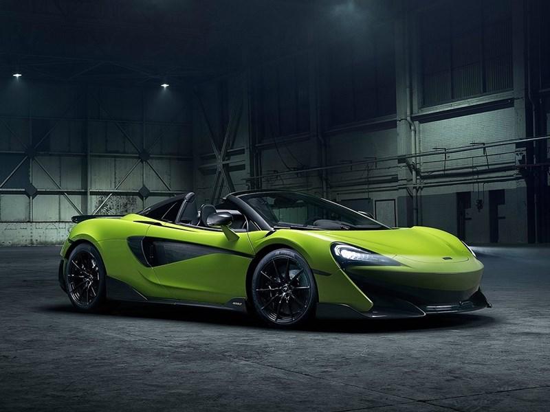 McLaren представил «злой» кабриолет