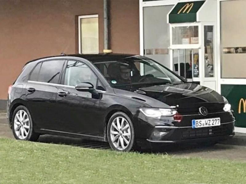 Golf оказался «засвечен» Фото Авто Коломна