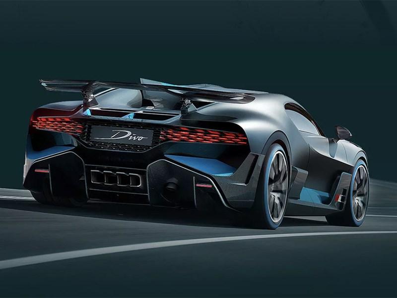 Bugatti продает тень от автомобиля