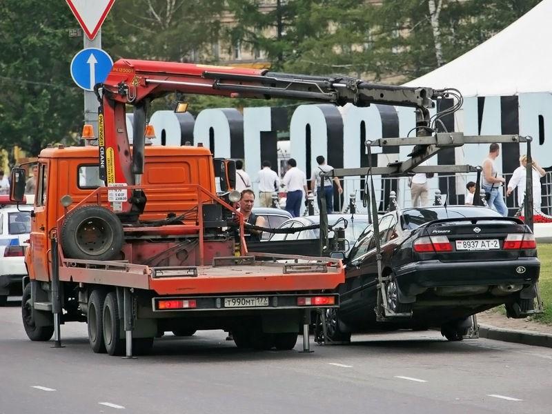 Новый штраф за эвакуацию Фото Авто Коломна