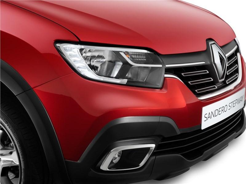 Renault Sandero Stepway 2018 передняя фара