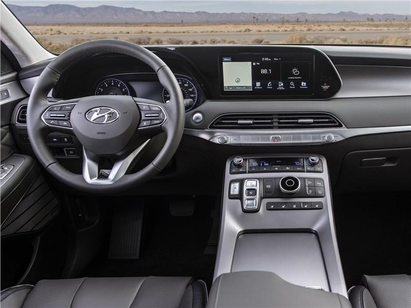 Hyundai Palisade 2020 салон