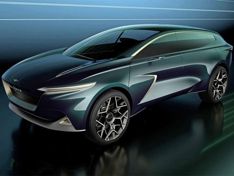 Aston Martin создал свой первый электрический кроссовер Фото Авто Коломна