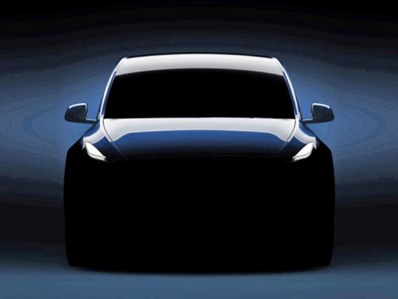 Tesla опубликовала изображение кроссовера Model Y