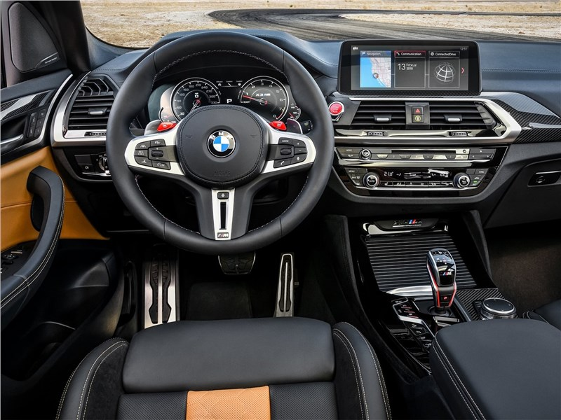 BMW X3 M Competition 2020 салон