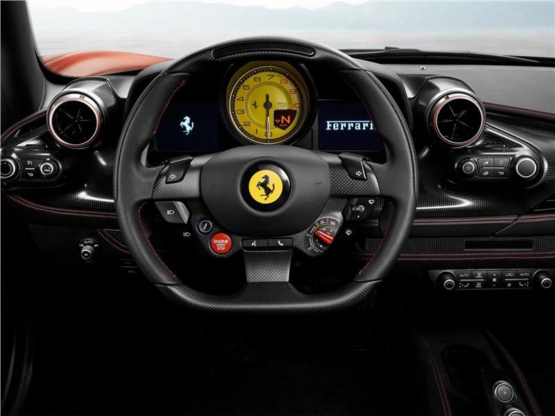 Ferrari F8 Tributo 2020 салон