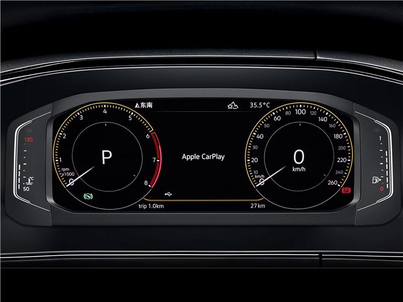 Volkswagen Tarek 2020 приборная панель