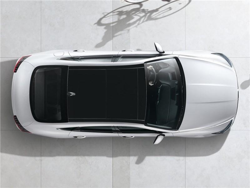 Hyundai Sonata 2020 вид сверху