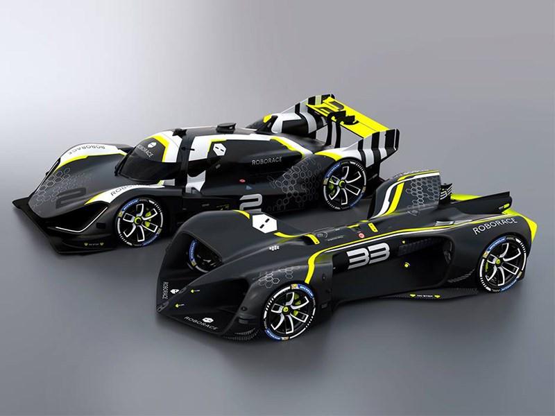 Представлены беспилотные автомобили для гонок Фото Авто Коломна