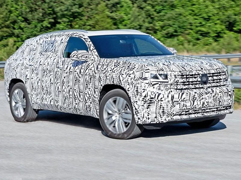 Volkswagen Teramont X замечен на тестах Фото Авто Коломна