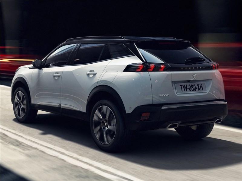 Peugeot 2008 2020 вид сзади