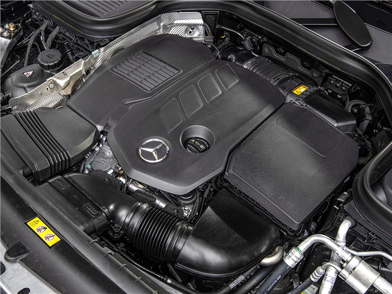 Mercedes-Benz GLC 2020 двигатель