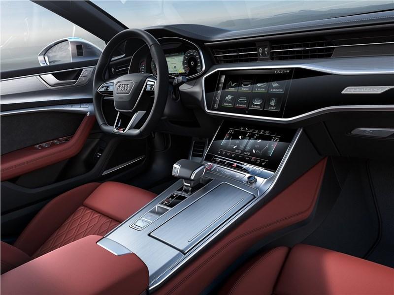Audi S7 Sportback TDI 2020 салон
