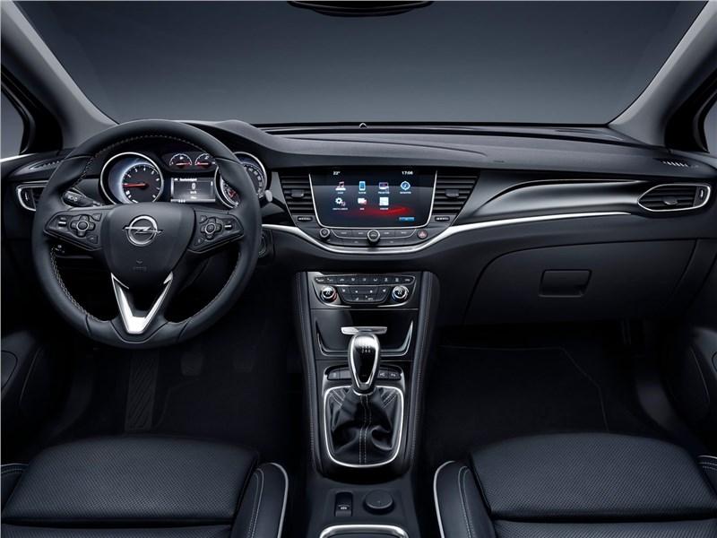 Opel Astra 2016 салон