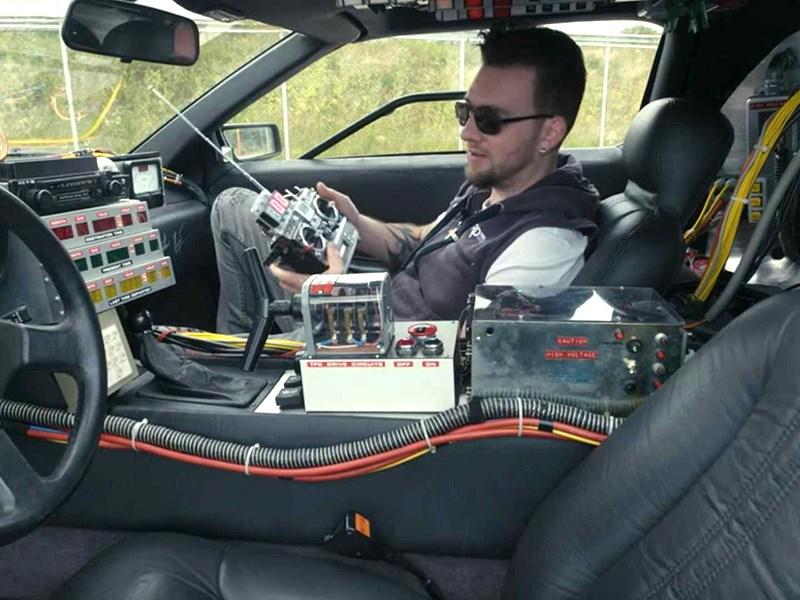 Построен настоящий DeLorean с дистанционным управлением Фото Авто Коломна