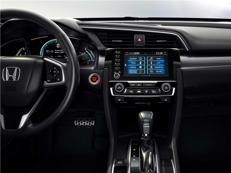 Honda Civic Sedan 2019 центральная консоль
