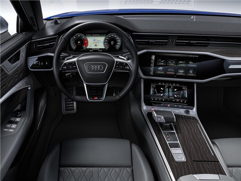 Audi S6 2020 салон