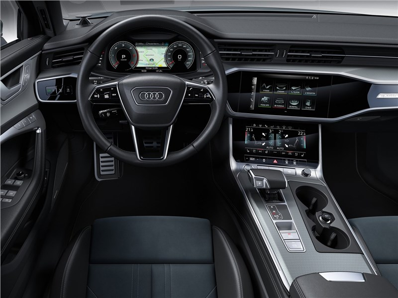 Audi A6 allroad quattro 2020 салон
