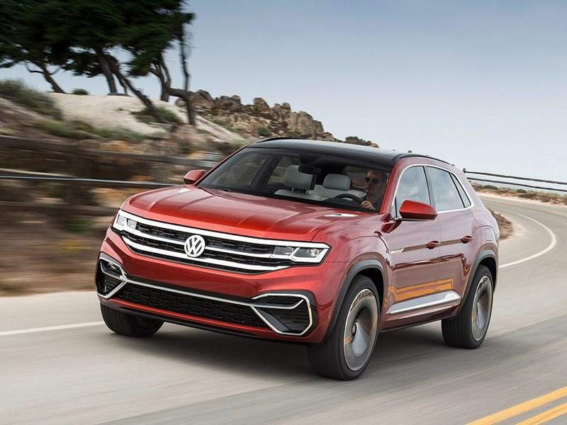 Volkswagen Teramont получит версию купе