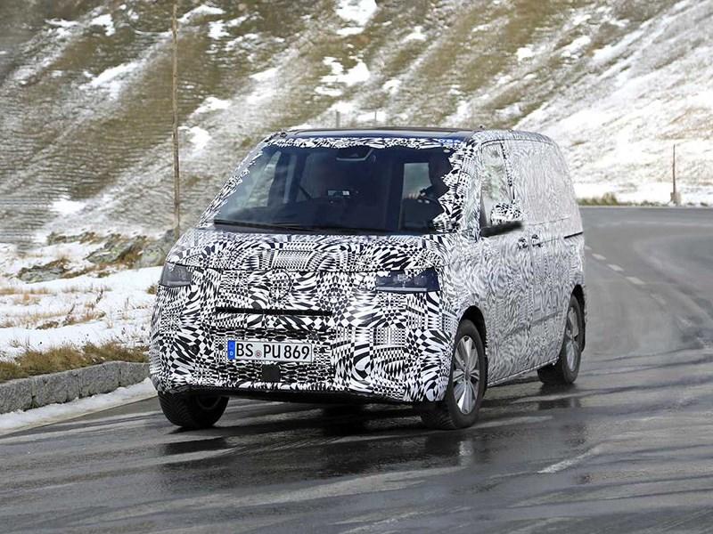 Обнаружен новый Volkswagen Transporter Фото Авто Коломна
