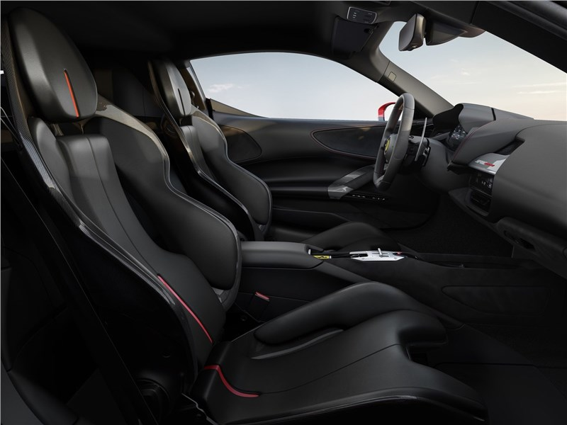 Ferrari SF90 Stradale 2020 передние кресла