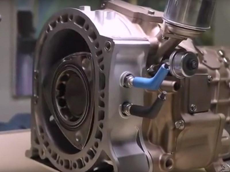 Mazda снова намекнула на возрождение роторного мотора
