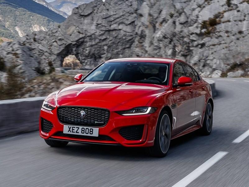 Обновленный Jaguar XE «допрыгнул» до России