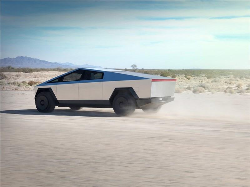 Tesla Cybertruck 2022 вид сзади