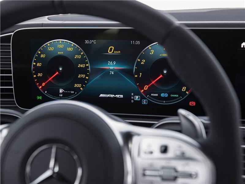Mercedes-Benz GLS63 AMG 2021 приборная панель