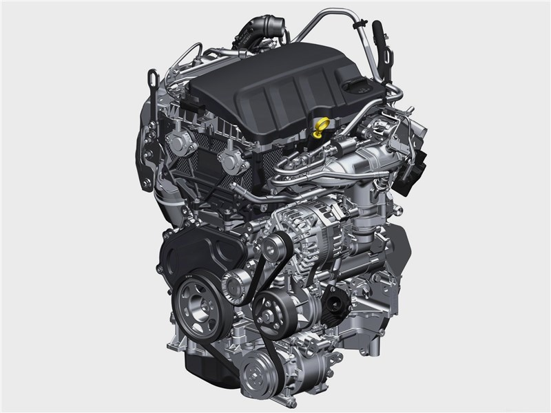 Opel Astra 2020 двигатель