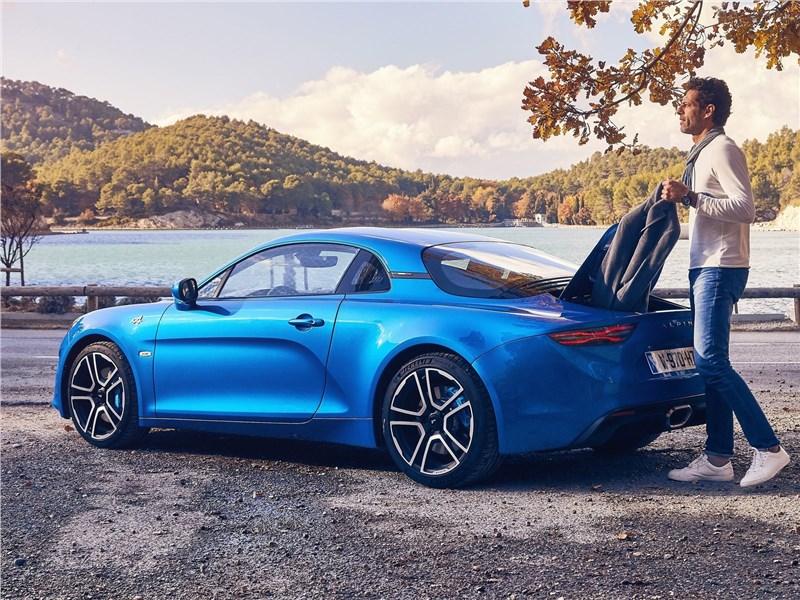 Alpine A110 2018 вид сзади