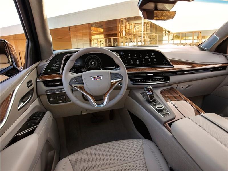 Cadillac Escalade 2021 салон