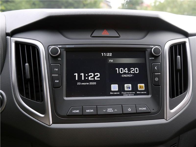 Hyundai Creta 2020 центральная консоль