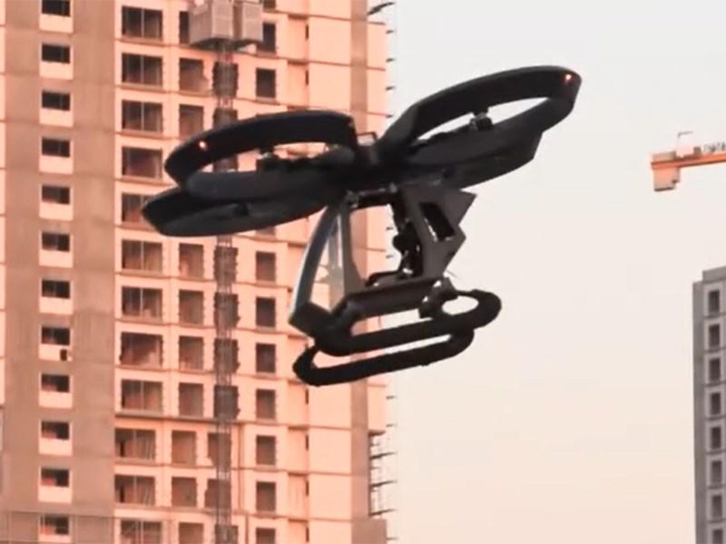 В Турции представили первый летающий автомобиль