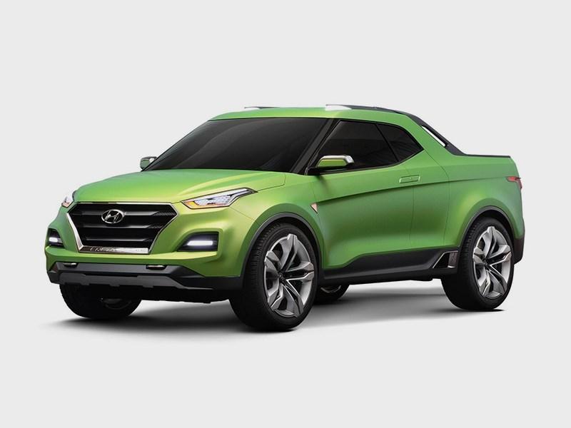 Пикап Hyundai Santa Cruz может получить «старшего брата»