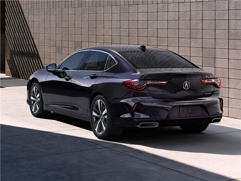 Acura TLX (2021) вид сзади
