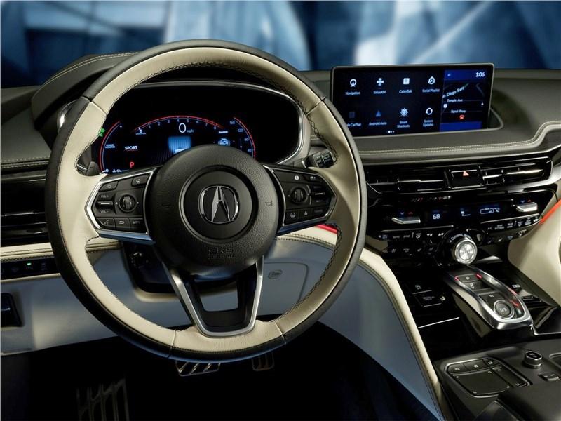 Acura MDX Concept (2020) салон