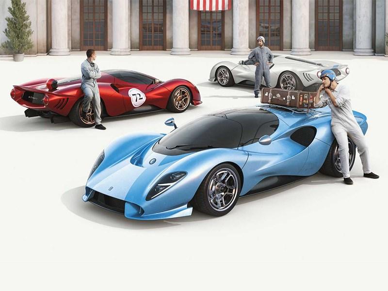 Производство суперкара De Tomaso P72 наладят в США