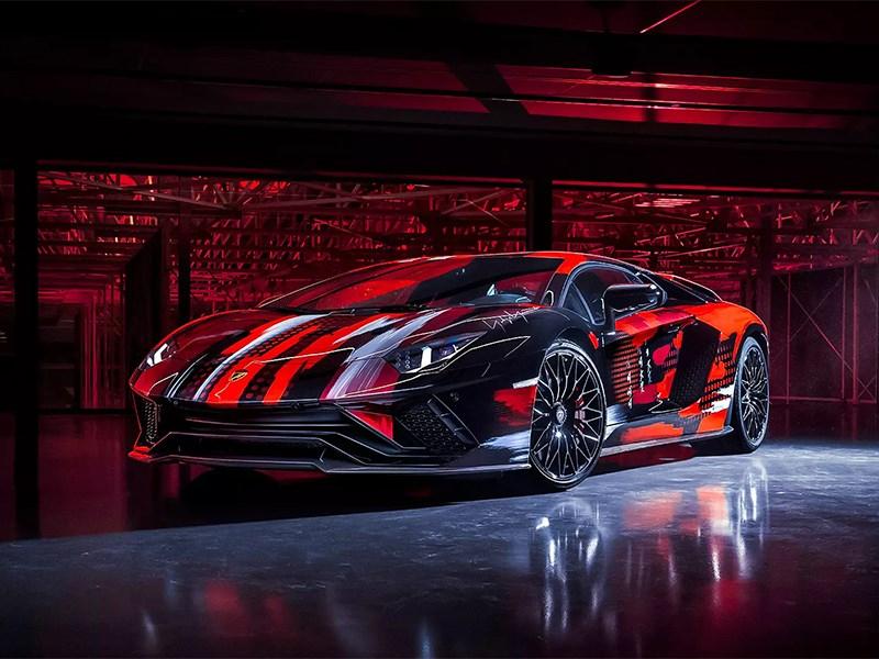 Японский дизайнер превратил Lamborghini Aventador S в арт-объект
