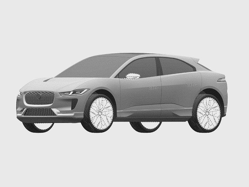 Обновленный Jaguar I-Pace рассекречен