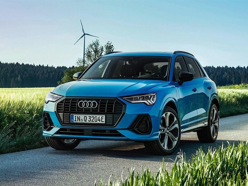 Audi Q3 превратилась в гибрид