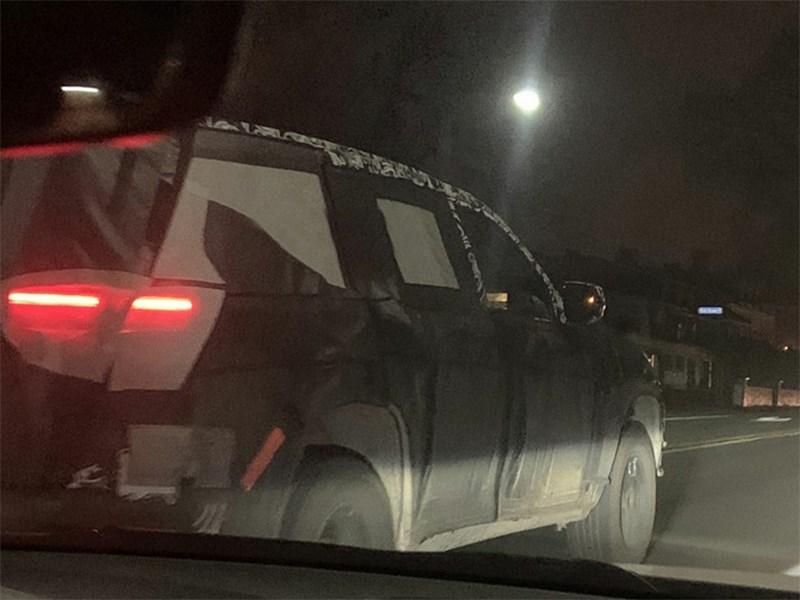 Новый Jeep Grand Cherokee засвечен