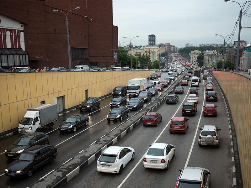 Названы самые медленные дороги столицы