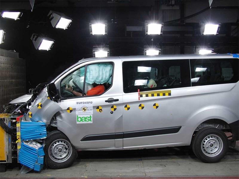 Безопасность европейских фургонов крайне мала