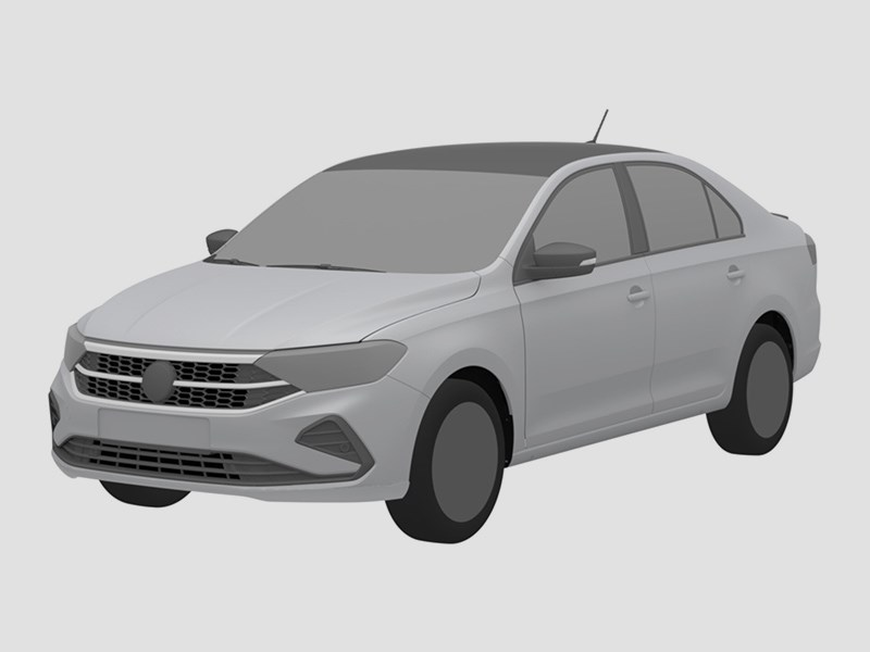 В России запатентовали Volkswagen Polo Sport