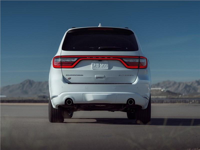 Dodge Durango (2021) вид сзади