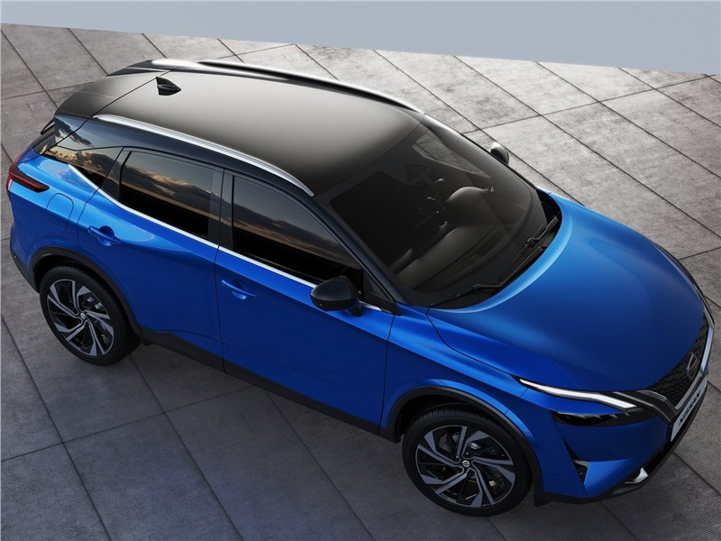 Nissan Qashqai (2022) вид сверху