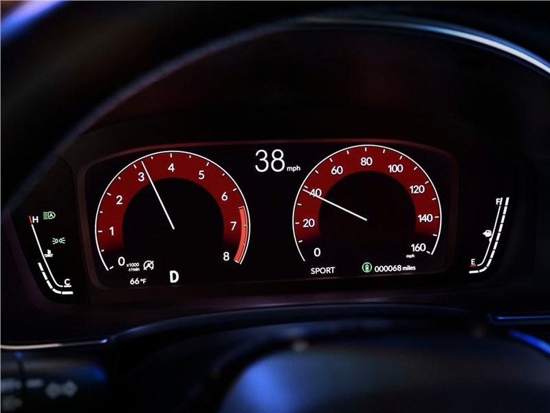 Honda Civic Sedan (2022) приборная панель