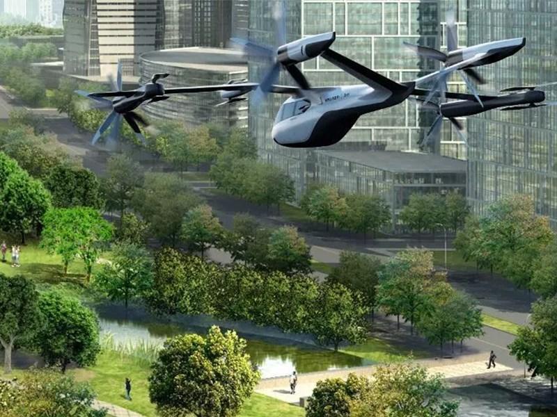 Hyundai готовится к запуску летающих таки в аэропортах