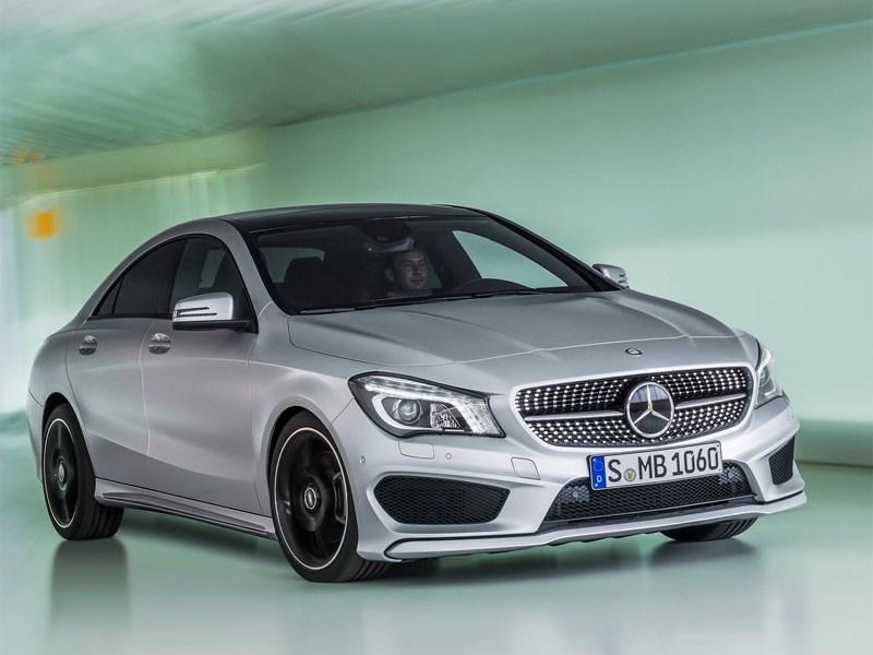 Поставки Mercedes CLA в Россию приостановлены